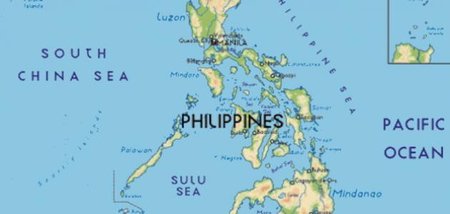 صور اين تقع الفلبين , مكان جمهوريه الفلبين علي خريطه العالم