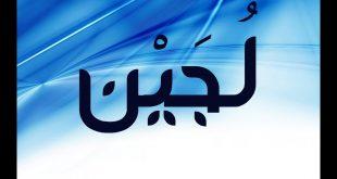 معنى اسم لجين فى الاسلام