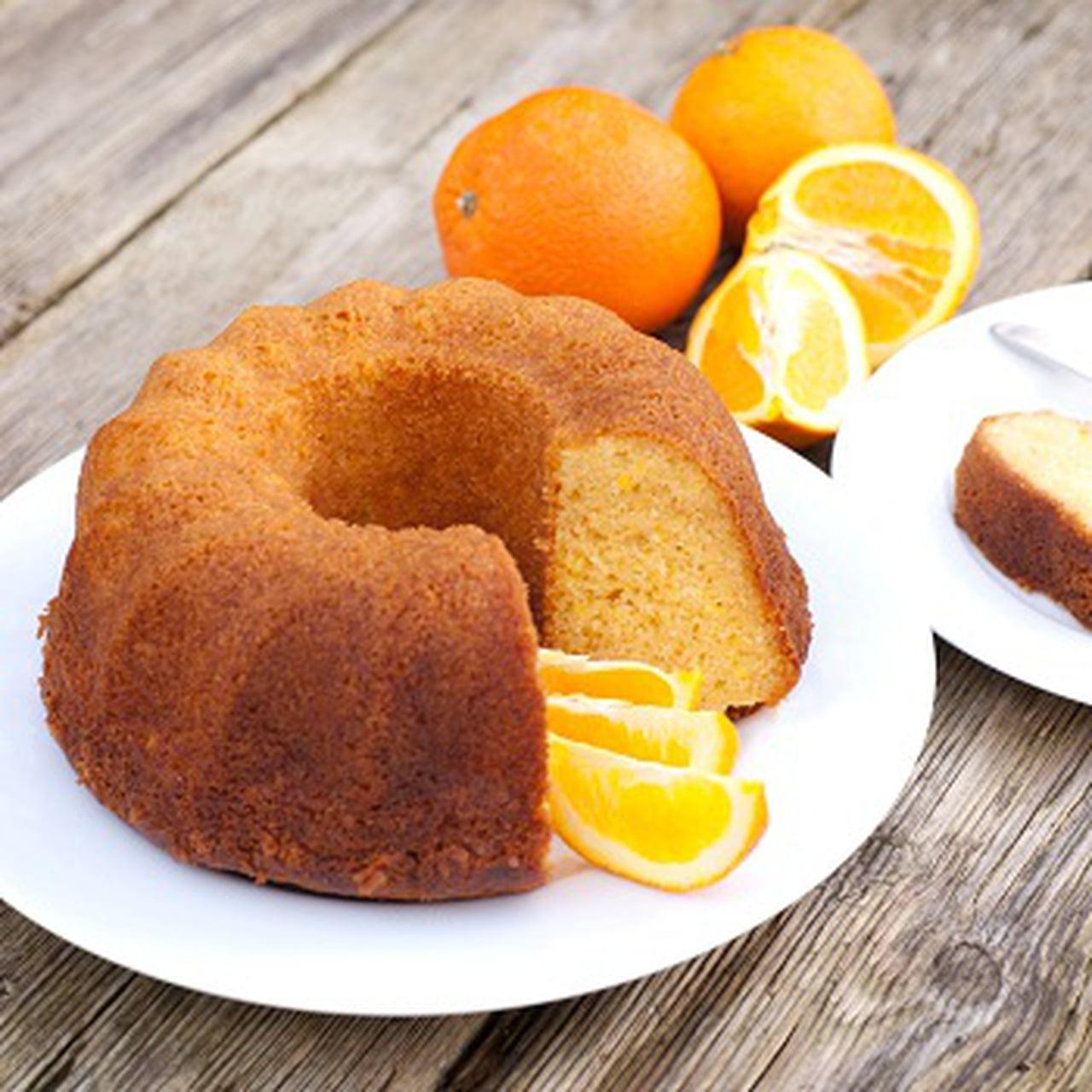 صور كيكة البرتقال عالم حواء , طريقة عمل كيك بطعم البرتقال