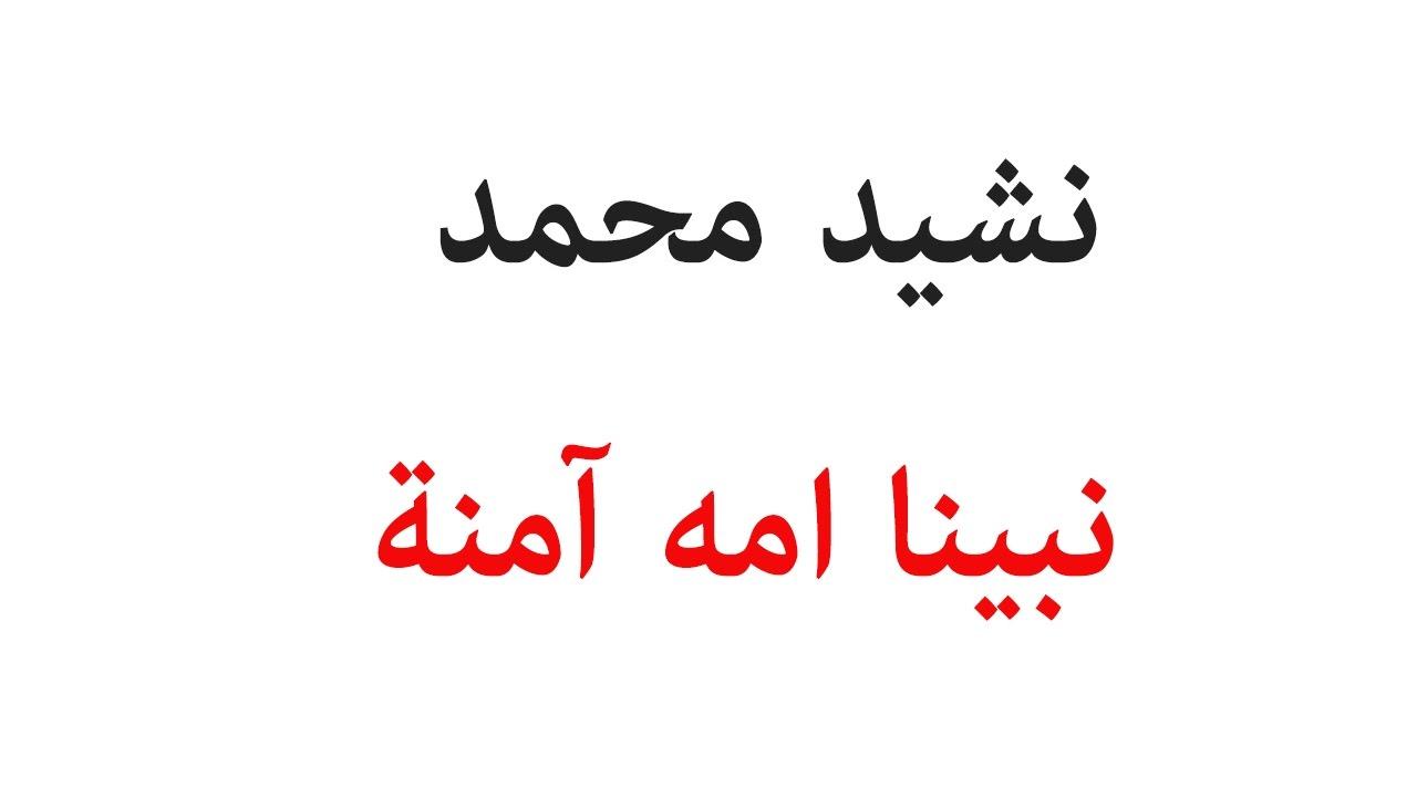صورة كلمات انشودة محمد نبينا , نشيد محمد نبينا لمحمد هلال