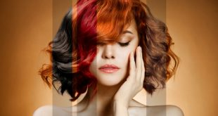 صورة تفتيح الشعر المصبوغ , جمالك من شعرك
