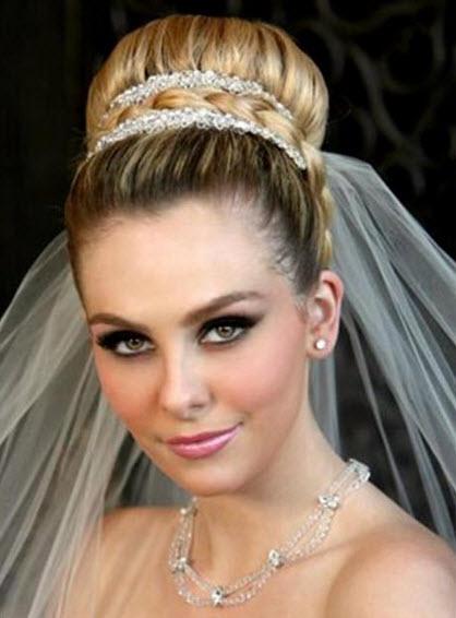 صور موديلات شعر للاعراس , احلي تسريحات للملكات