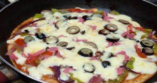 صور طريقة عمل البيتزا السائله , وصفه البيتزا السائله الذيذه