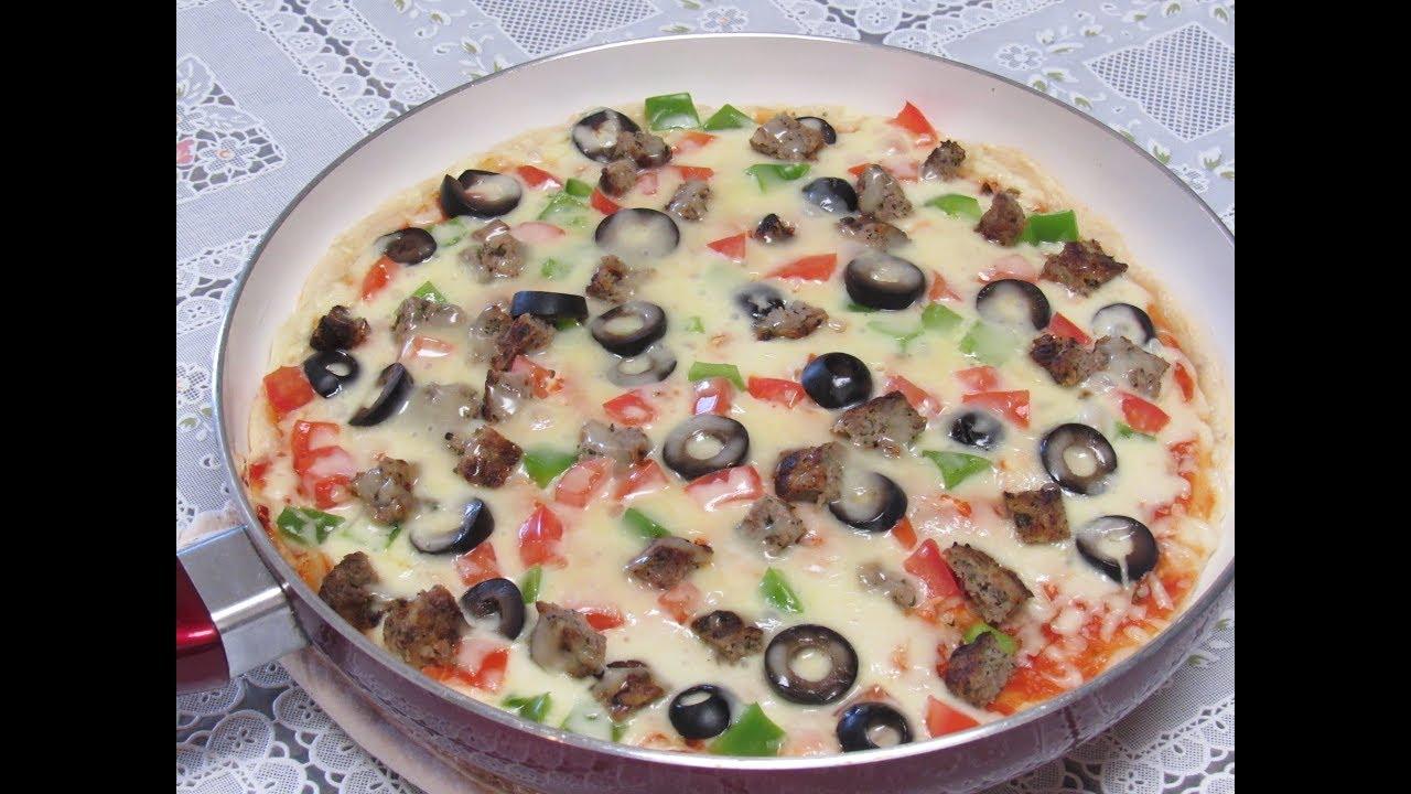 صورة طريقة عمل البيتزا السائله , وصفه البيتزا السائله الذيذه