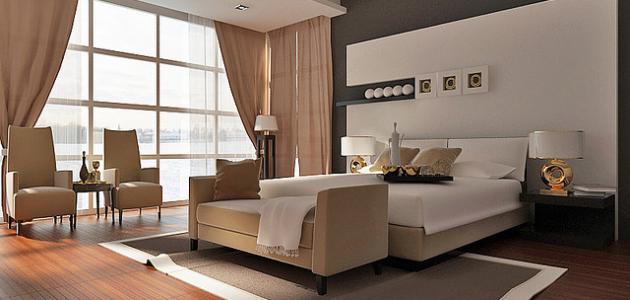 بالصور كيفية ترتيب غرفة النوم للمتزوجين , اشكال مختلفه لغرف النوم للعرسان 149 5