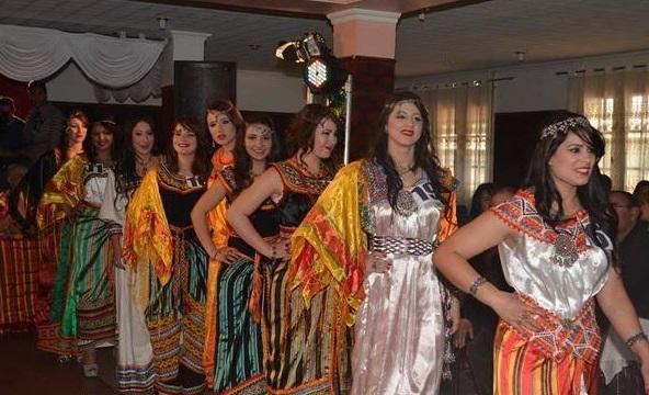 صورة صور اعراس جزائرية , احلي حفلات وفساتين زفاف جزائريه