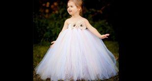 فساتين الاعراس للاطفال , احدث تصميمات جديده لفساتين زفاف للاطفال