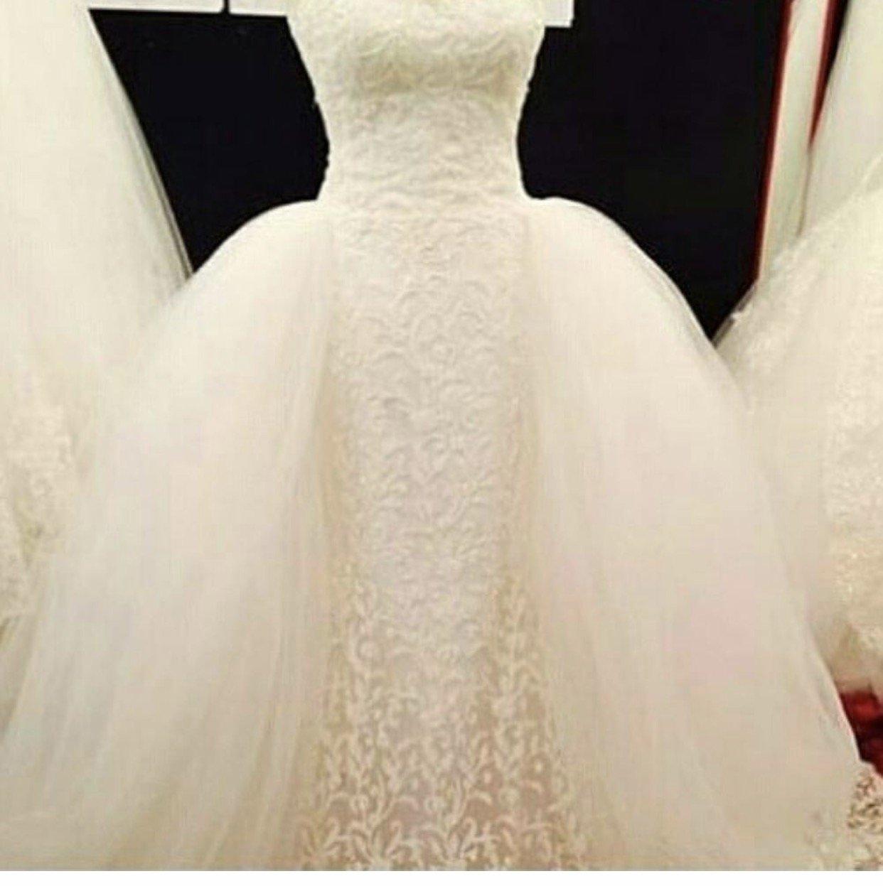 بالصور فساتين زفاف اوف وايت , اجمل صيحات فساتين الزفاف 2019 2713 1