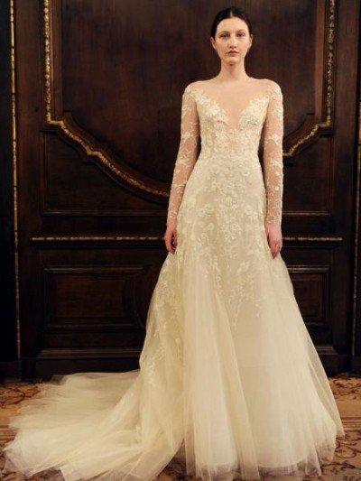 بالصور فساتين زفاف اوف وايت , اجمل صيحات فساتين الزفاف 2019 2713 2