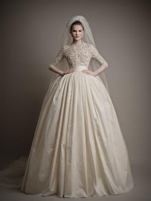 بالصور فساتين زفاف اوف وايت , اجمل صيحات فساتين الزفاف 2019 2713 7