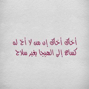 بالصور حكم عن الاخ , عبارات في حب الاخ هو السند 2823