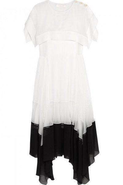 بالصور رسم فستان حوامل , صممي فستان للحامل بخطوات بسيطة وسلهة 2964 10