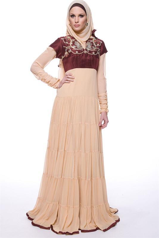 بالصور رسم فستان حوامل , صممي فستان للحامل بخطوات بسيطة وسلهة 2964 4