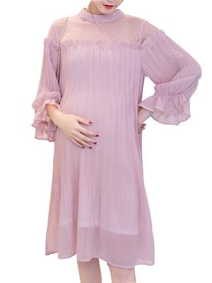 بالصور رسم فستان حوامل , صممي فستان للحامل بخطوات بسيطة وسلهة 2964 5