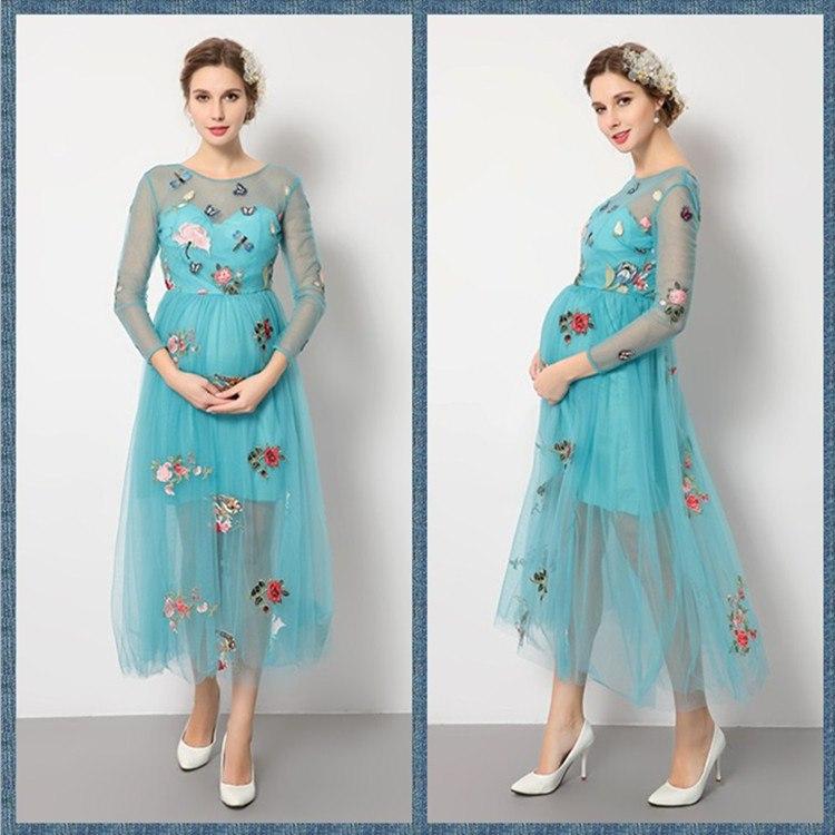 بالصور رسم فستان حوامل , صممي فستان للحامل بخطوات بسيطة وسلهة 2964 7