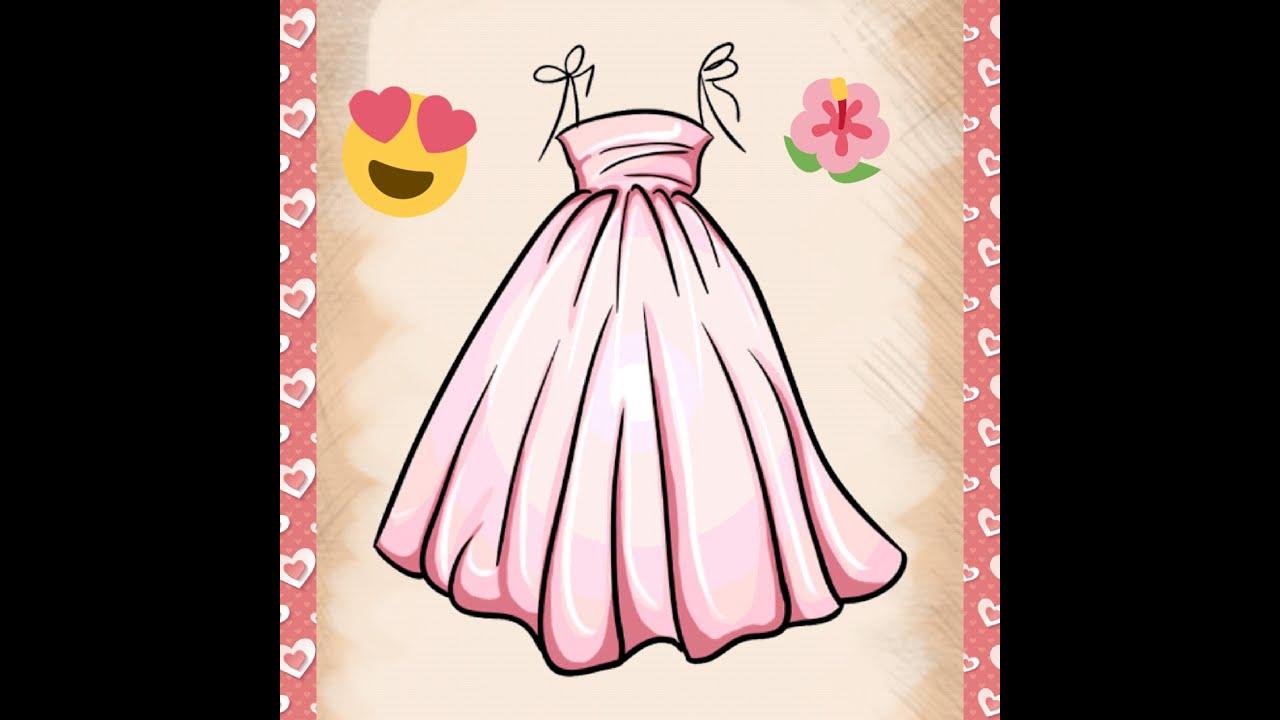بالصور رسم فستان حوامل , صممي فستان للحامل بخطوات بسيطة وسلهة 2964