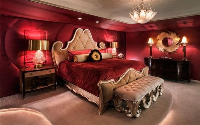 بالصور غرف نوم للعرسان رومانسية , عيش الرومانسية في غرفة نوم لك انت وهي 2967 1