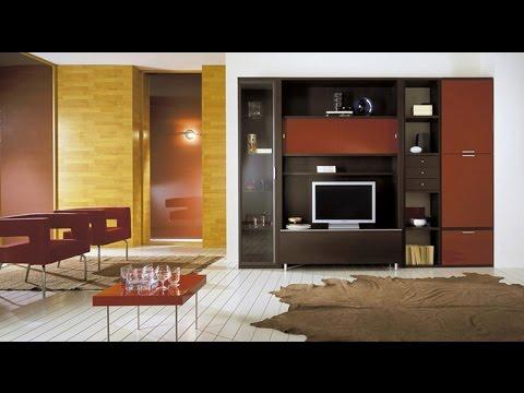 صورة ديكورات حائط التلفاز , اقوي عرض لديكور حائط التلفزيون