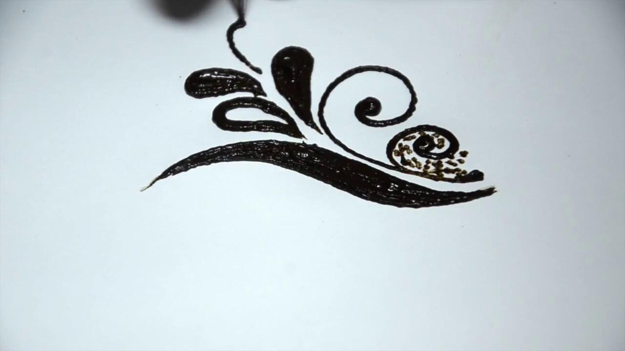 صور رسم حنة على الظهر , اجمل اشكال لرسومات الحنة على الظهر