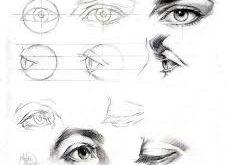 بالصور كيفية رسم وجه انسان , طرق رسم الانسان 5139 4 227x165