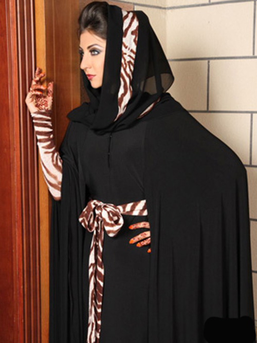 صورة احدث موديلات عبايات بناتي , تصاميم الموضة