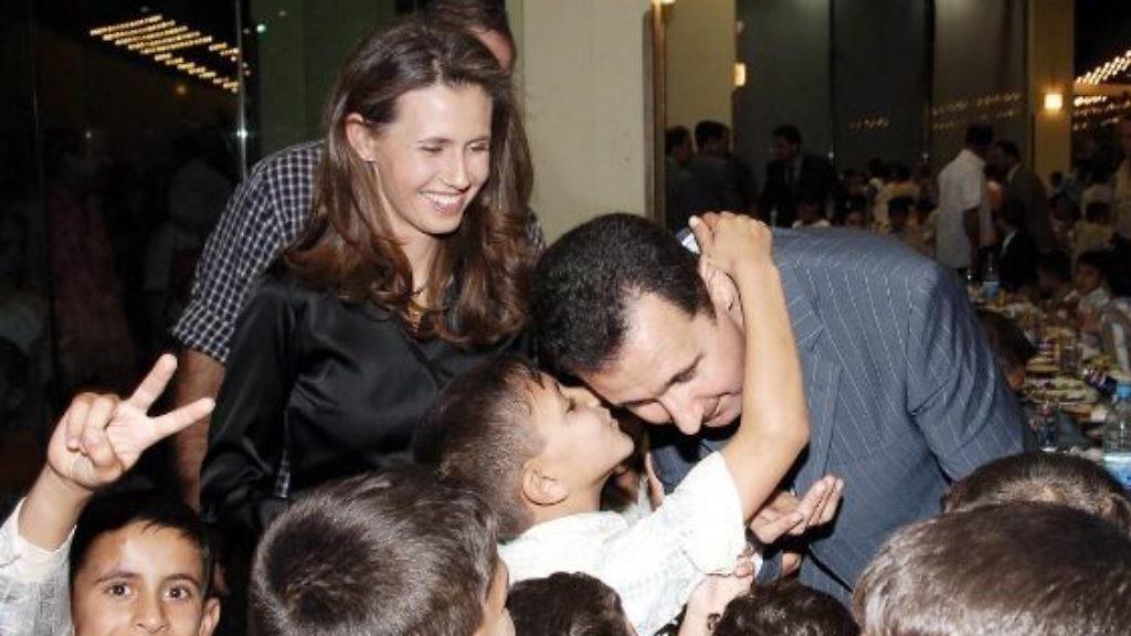 صورة صور بنت بشار الاسد , زين بنت الرئيس السوري