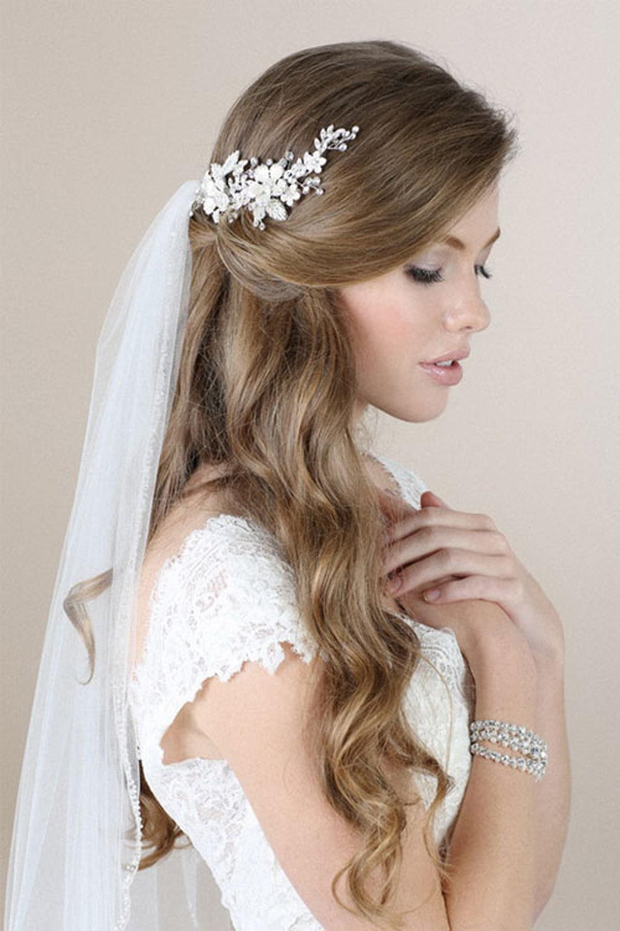 صور صور تسريحات عروس , اشيك صور للعروس بالتسريحات الرائعة