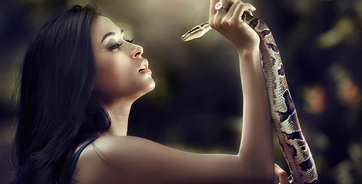 صور تفسير حلم لدغة الثعبان في اليد اليمنى , رؤية الثعبان في الحلم