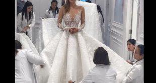 صور تصميم فستان زفاف , اجمل صور لفساتين الافراح
