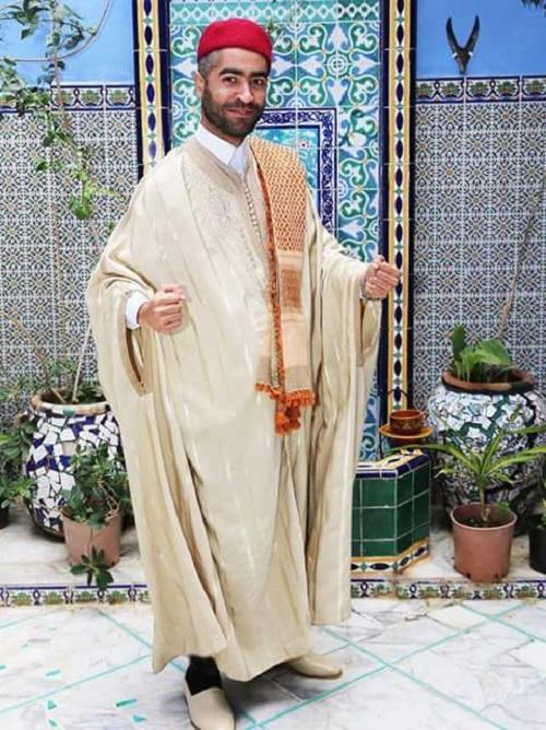 بالصور لباس تقليدي تونسي للرجال , ملابس تونيسيه جديده للرجال 1969 19