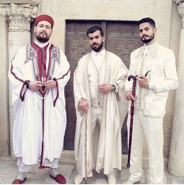 بالصور لباس تقليدي تونسي للرجال , ملابس تونيسيه جديده للرجال 1969 20
