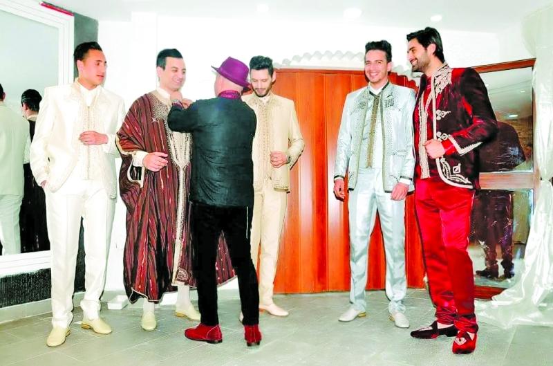 بالصور لباس تقليدي تونسي للرجال , ملابس تونيسيه جديده للرجال 1969 23