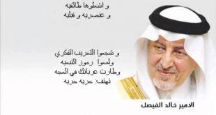بالصور اجمل قصائد خالد الفيصل , قصائد رائعه للامير خالد الفيصل 204 9 310x165
