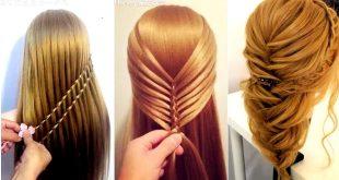 صور تسريحات الشعر الطويل للبنات المراهقات , اسهل الخطوات لعمل تسريحه للبنت تحفه