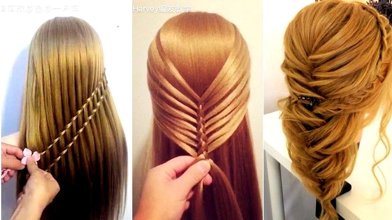 صورة تسريحات الشعر الطويل للبنات المراهقات , اسهل الخطوات لعمل تسريحه للبنت تحفه