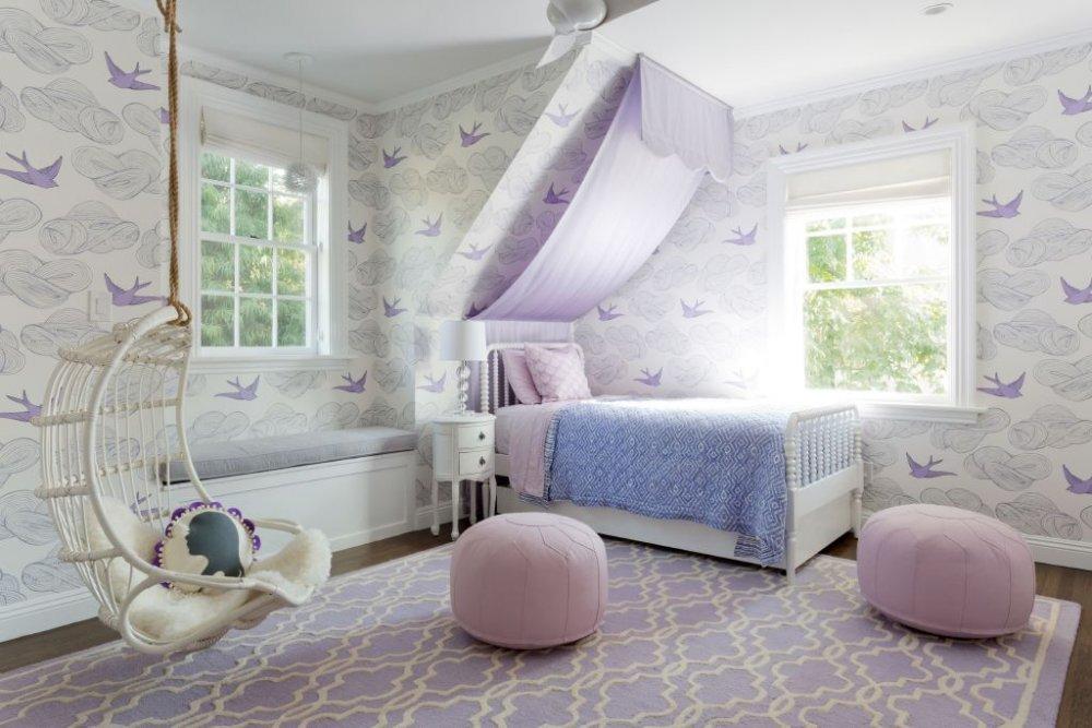 بالصور صور غرف نوم للصبايا , اجدد الغرف العصريه للبنات 2119 2