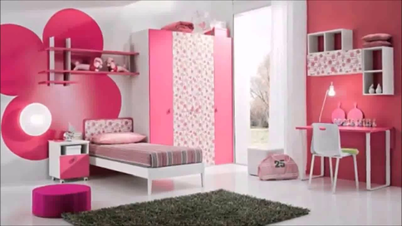 بالصور صور غرف نوم للصبايا , اجدد الغرف العصريه للبنات 2119 5