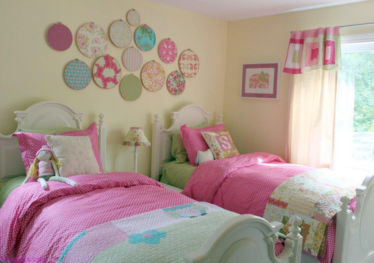 بالصور صور غرف نوم للصبايا , اجدد الغرف العصريه للبنات 2119 7
