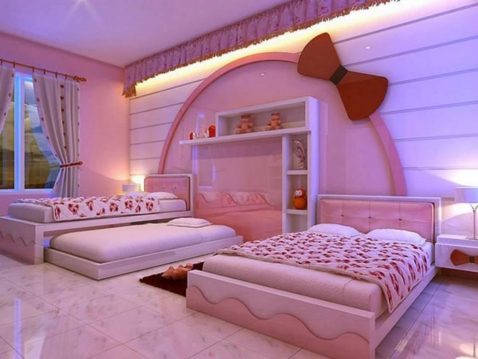 بالصور صور غرف نوم للصبايا , اجدد الغرف العصريه للبنات 2119 9
