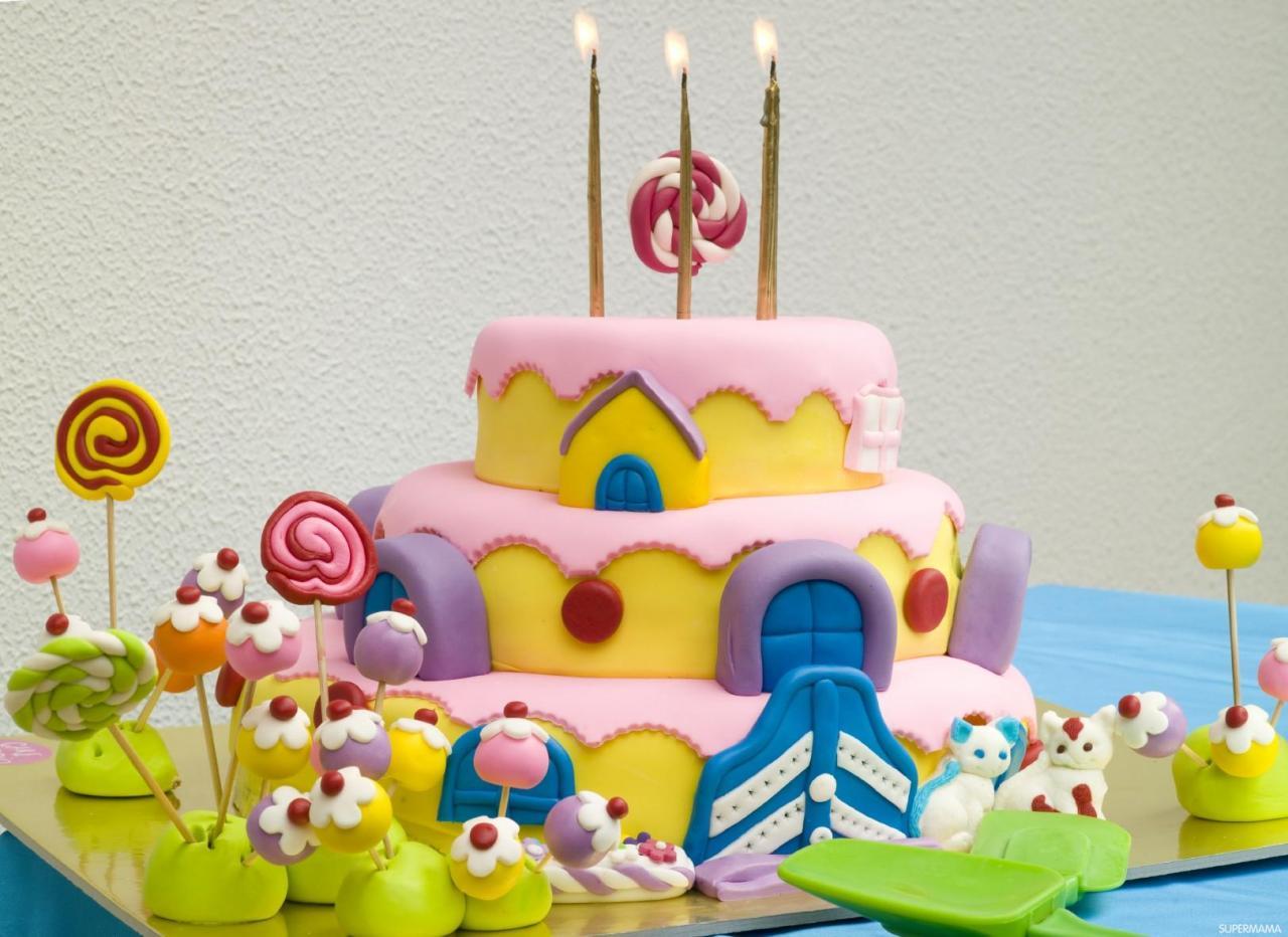 بالصور حلويات عيد ميلاد اطفال , اعياد ميلاد للاطفال وما الحلويات 2190 10