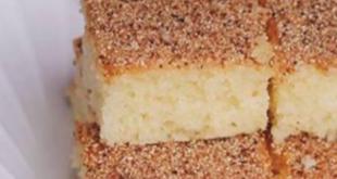 صور طريقة كيكة الرمل , الكيكه السحريه بمكونات بسيطه