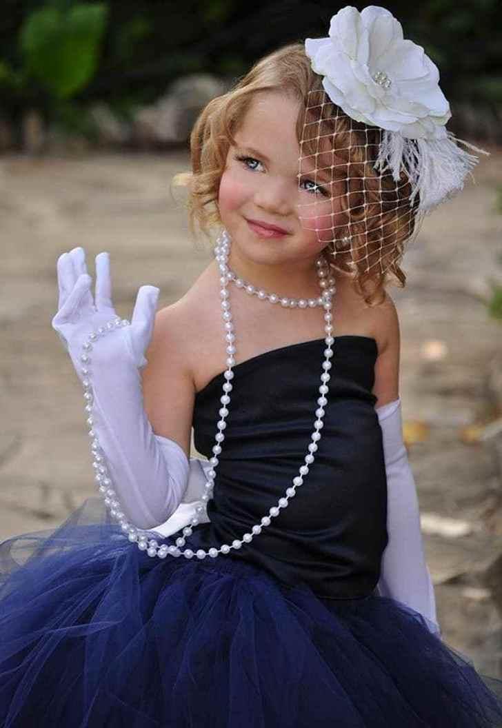 بالصور فساتين اطفال سواريه , السهرات والمناسبات وتفصيل فساتين للاطفال 2375 11