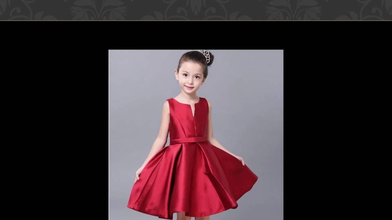 بالصور فساتين اطفال سواريه , السهرات والمناسبات وتفصيل فساتين للاطفال 2375 6