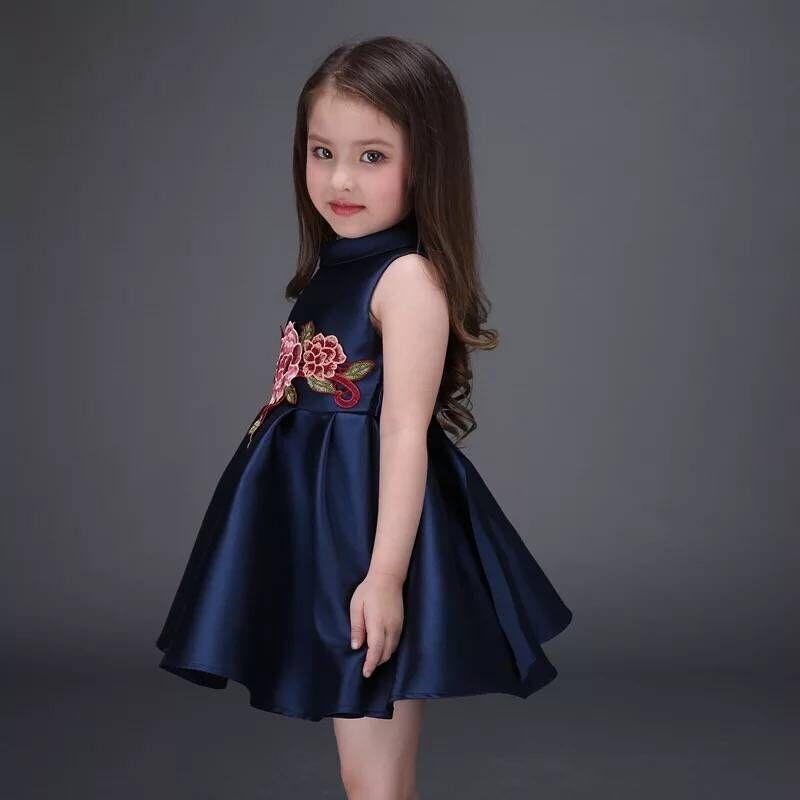 بالصور فساتين اطفال سواريه , السهرات والمناسبات وتفصيل فساتين للاطفال 2375 7