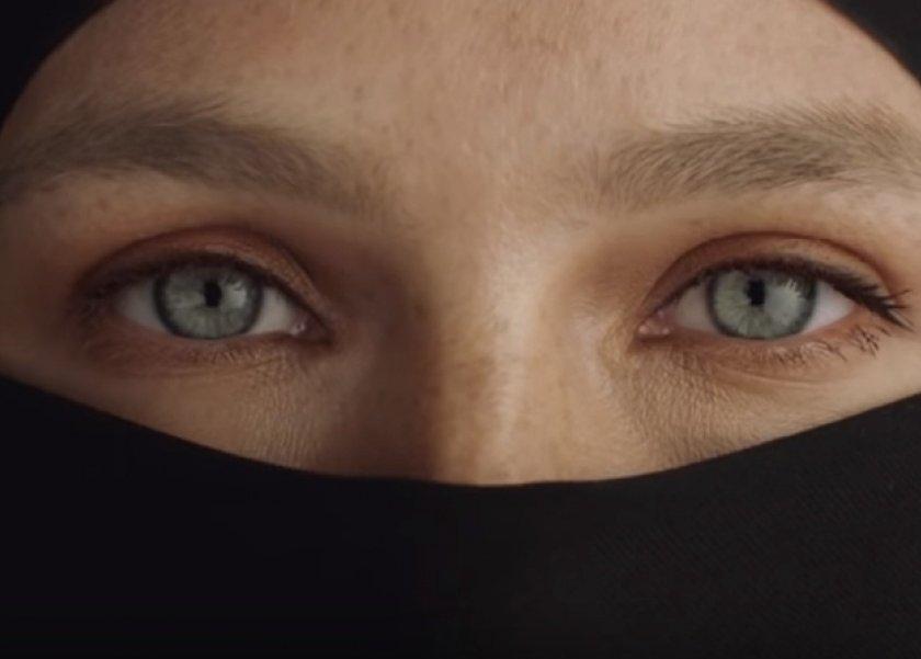 بالصور اجمل عيون بالنقاب , جمال العيون وابرازها من النقاب 2376 10