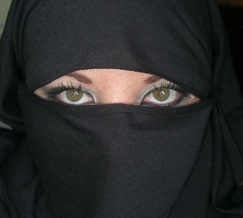 بالصور اجمل عيون بالنقاب , جمال العيون وابرازها من النقاب 2376 6