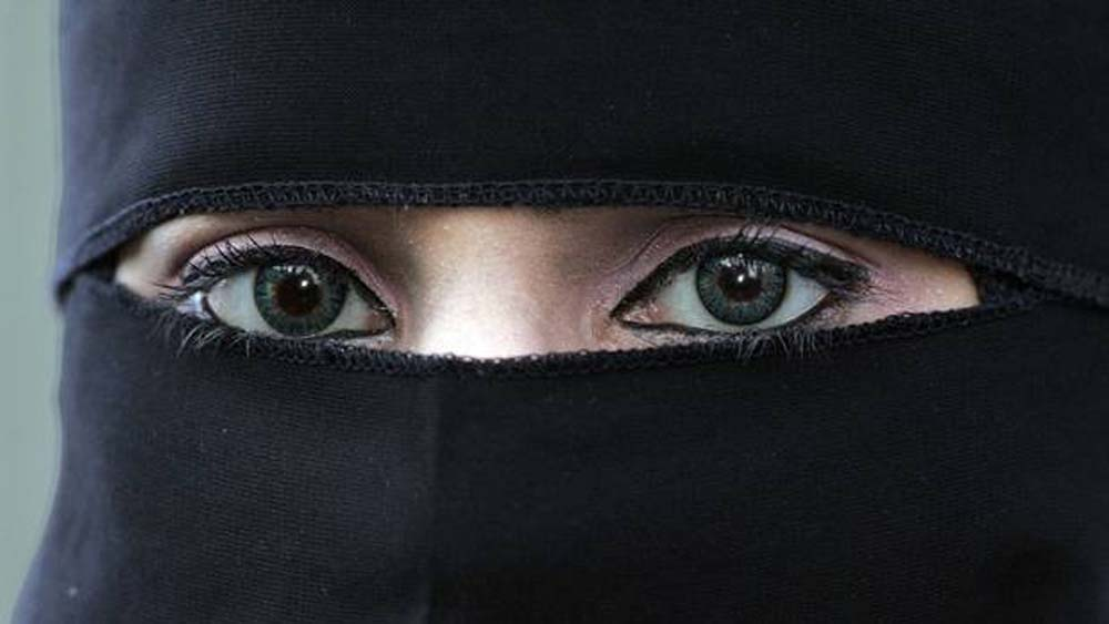 صورة اجمل عيون بالنقاب , جمال العيون وابرازها من النقاب