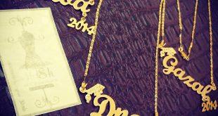 بالصور سلاسل ذهب مكتوب عليها اسماء , الذهب تتزين به الفيتات بها زخراف الاسماء 2459 12 310x165