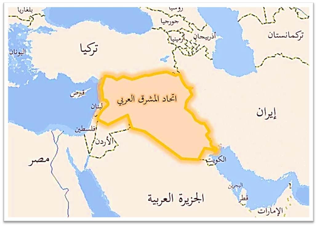 خارطة الشرق الاوسط الجديد كيفيه وضوح الشرق الاوسط على الخريطه رهيبه