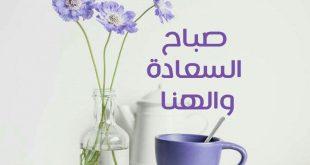 صور صباح السعادة والهنا , كلمات تجدد يومنا وتمنحه السعاده والهنا